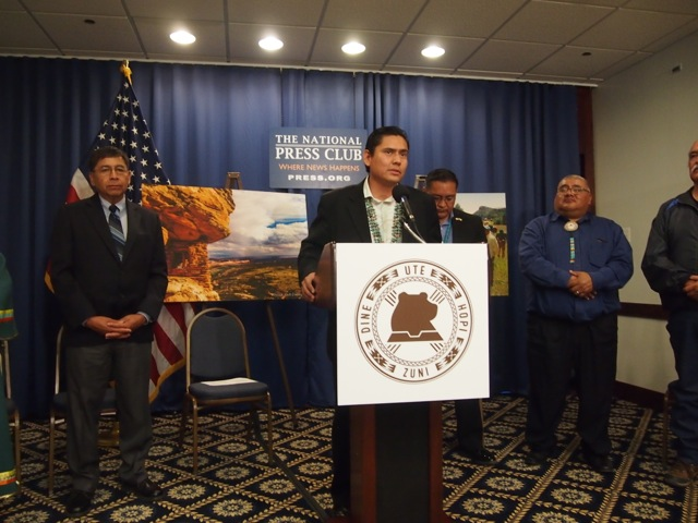 Inter-Tribal Coalition Bears Ears Press Conference in DC