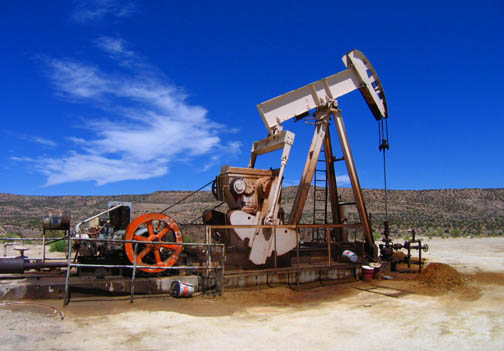 Tin Cup Oil Well