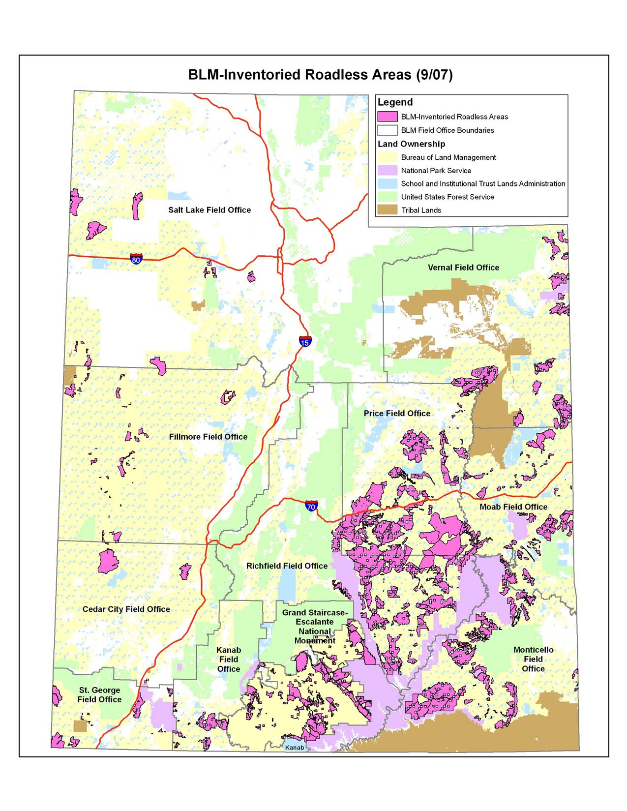 Moab RMP Maps Southern Utah Wilderness Alliance