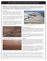 Dust on Snow Fact Sheet
