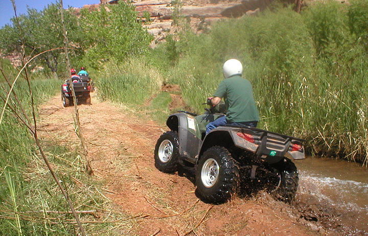 Arch Canyon ATVS