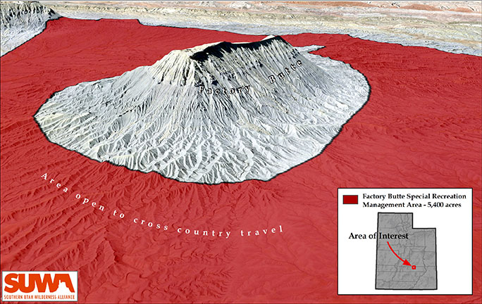 Factory Butte SRMA Graphic