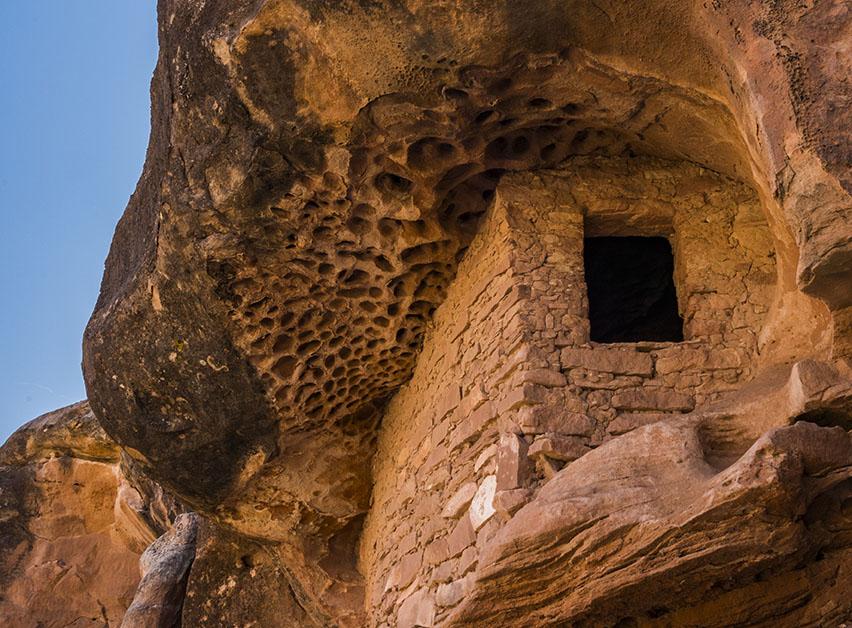 Honeycomb Ruin, Cedar Mesa (Jeff Foott)