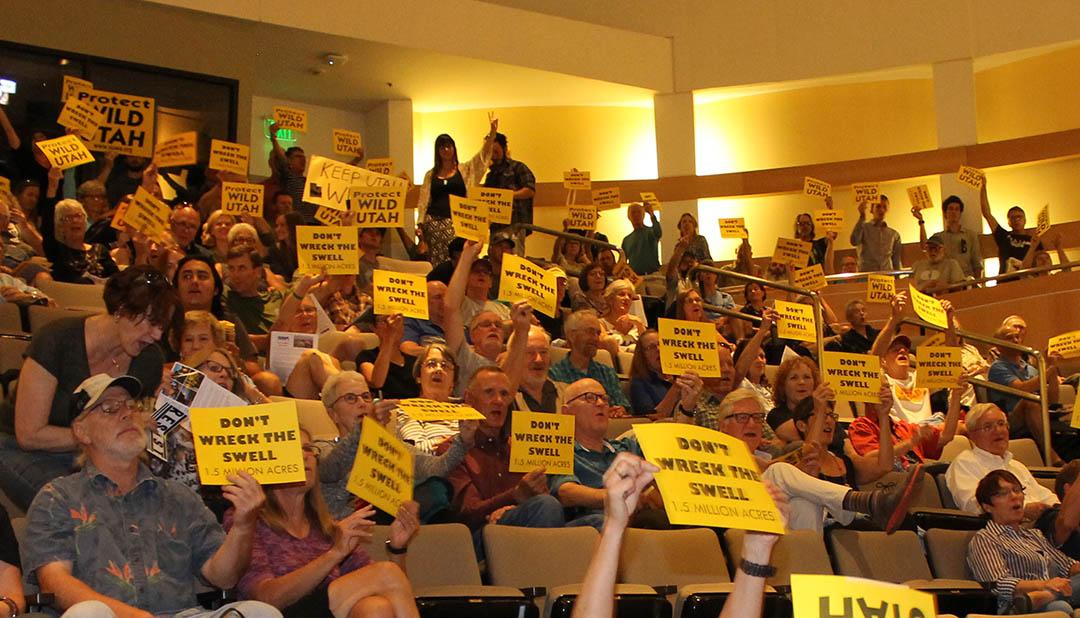Audiencia popular para el San Rafael Swell