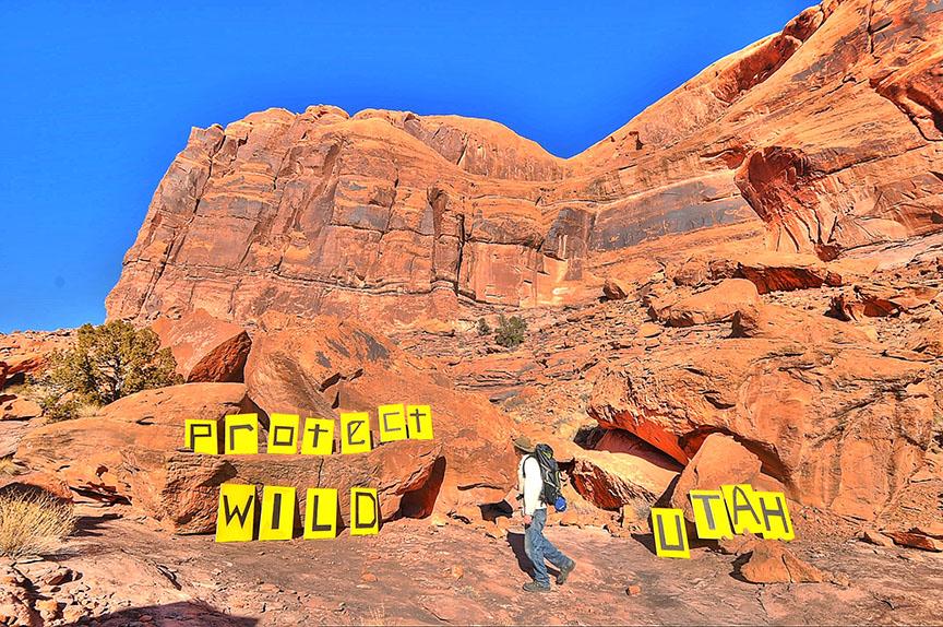 Protect Wild Utah Hiker (Peter Gatch)