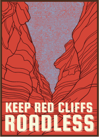 Keep Red Cliffs Roadless Graphic