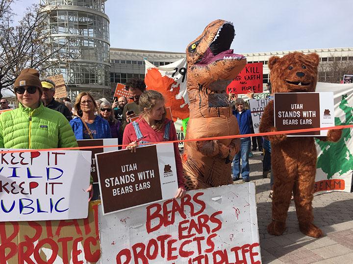 Shrinke Zinke Protest