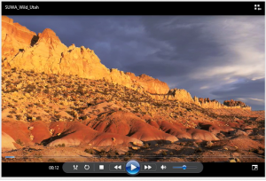 Wild Utah Video Captura de pantalla