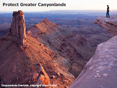 Greater Canyonlands postcard