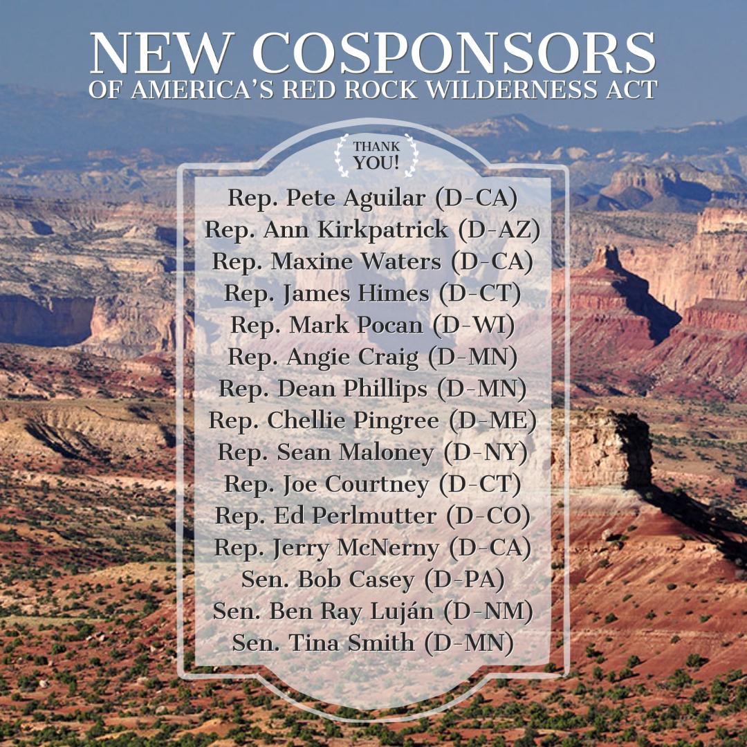 Sept 2021 New Cosponsors