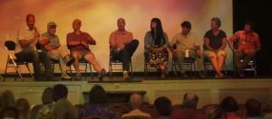Los panelistas